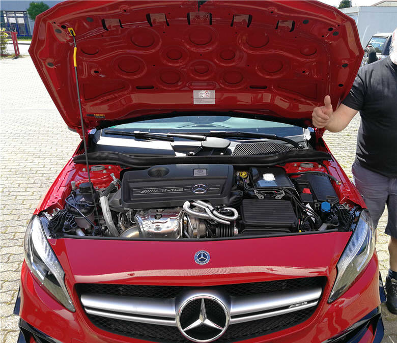Chiptuning mit Box AMG A45