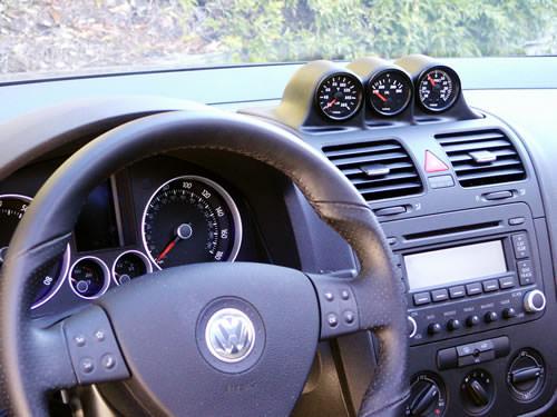 Zusatzinstrumentenhalterung VW Golf 5