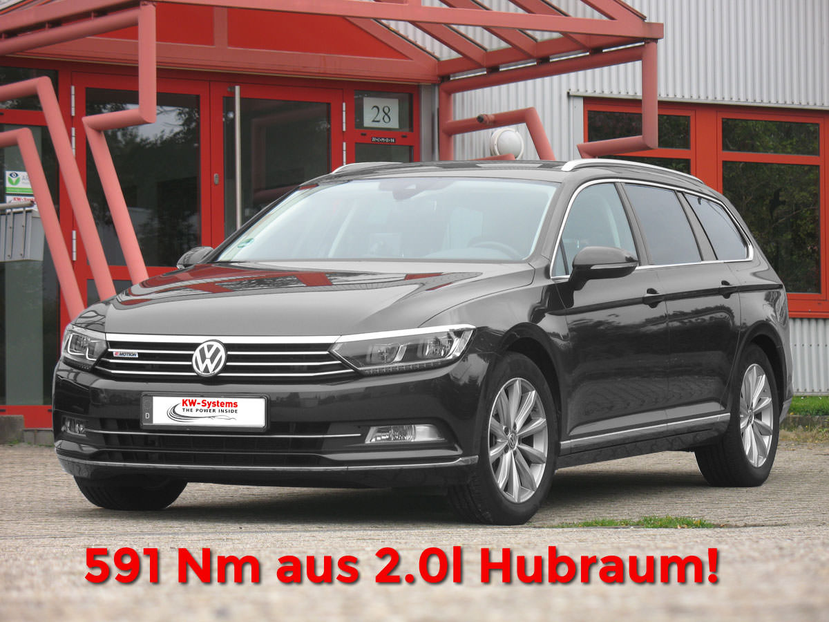 Chiptuning VW Passat 20 TDI 240 PS
