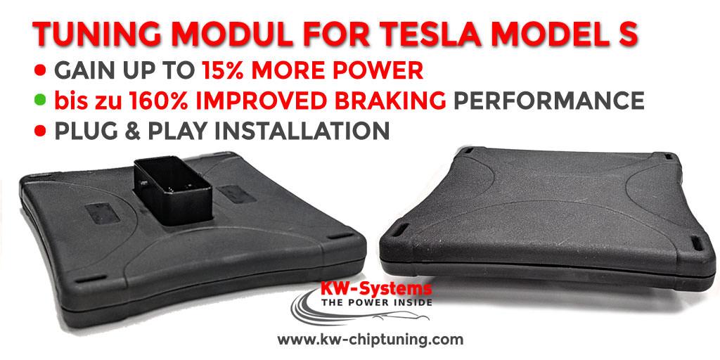Tesla Chiptuning 15% mehr Leistung