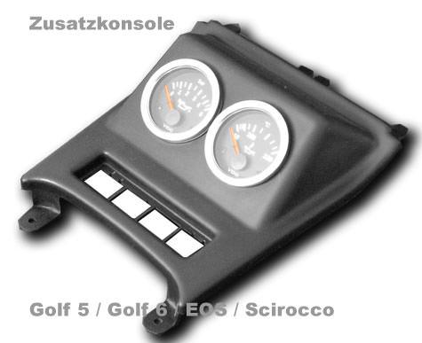 Zusatzinstrumentenhalterung Gauge mounts G5KONS-U52