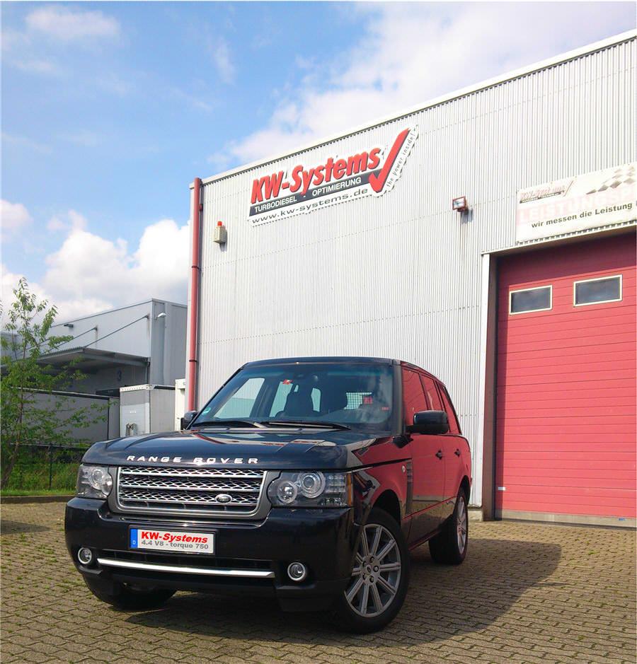 Chiptuning Range Rover V8
