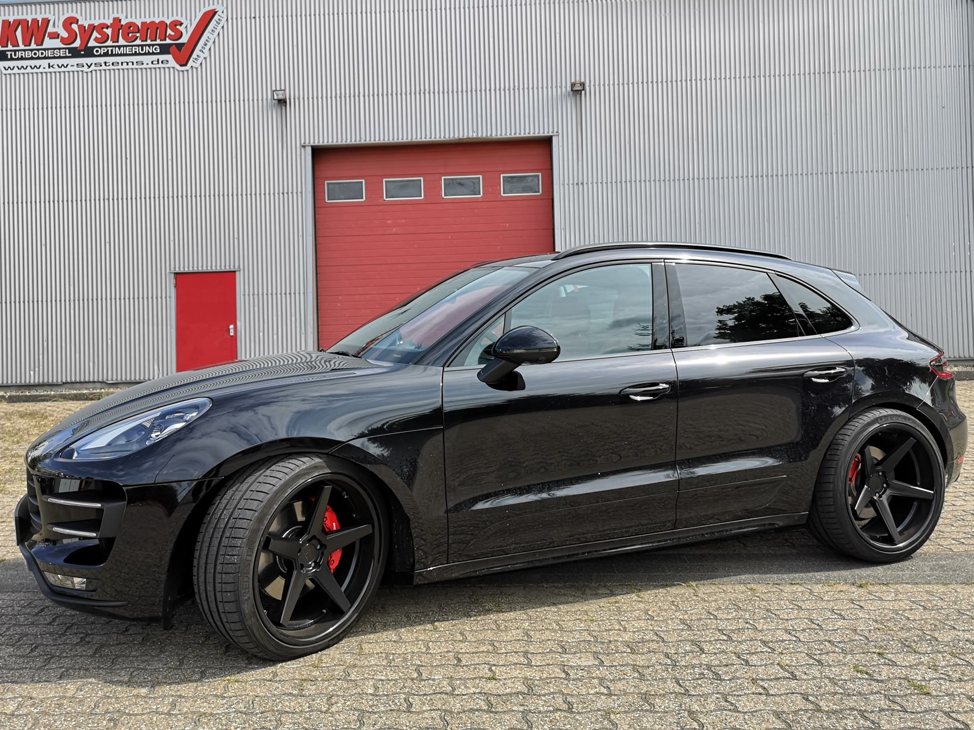 Tuning KW-Systems Porsche Macan Turbo